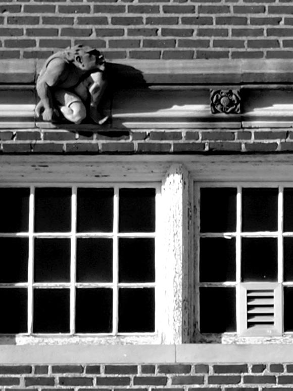 Gargoyle Above Window